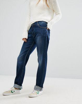Джинсы бойфренда с отворотами M.i.h Jeans Phoebe