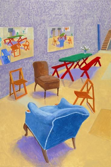 Annely Juda Fine Art | Exhibitions | David Hockney: Painting and Photography (2015)