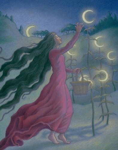 Goddess- Moon                                                              gathering