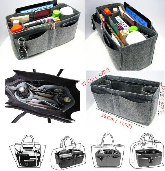 die besten 20 taschenorganisation ideen auf pinterest geldb rse speicher handtaschen. Black Bedroom Furniture Sets. Home Design Ideas