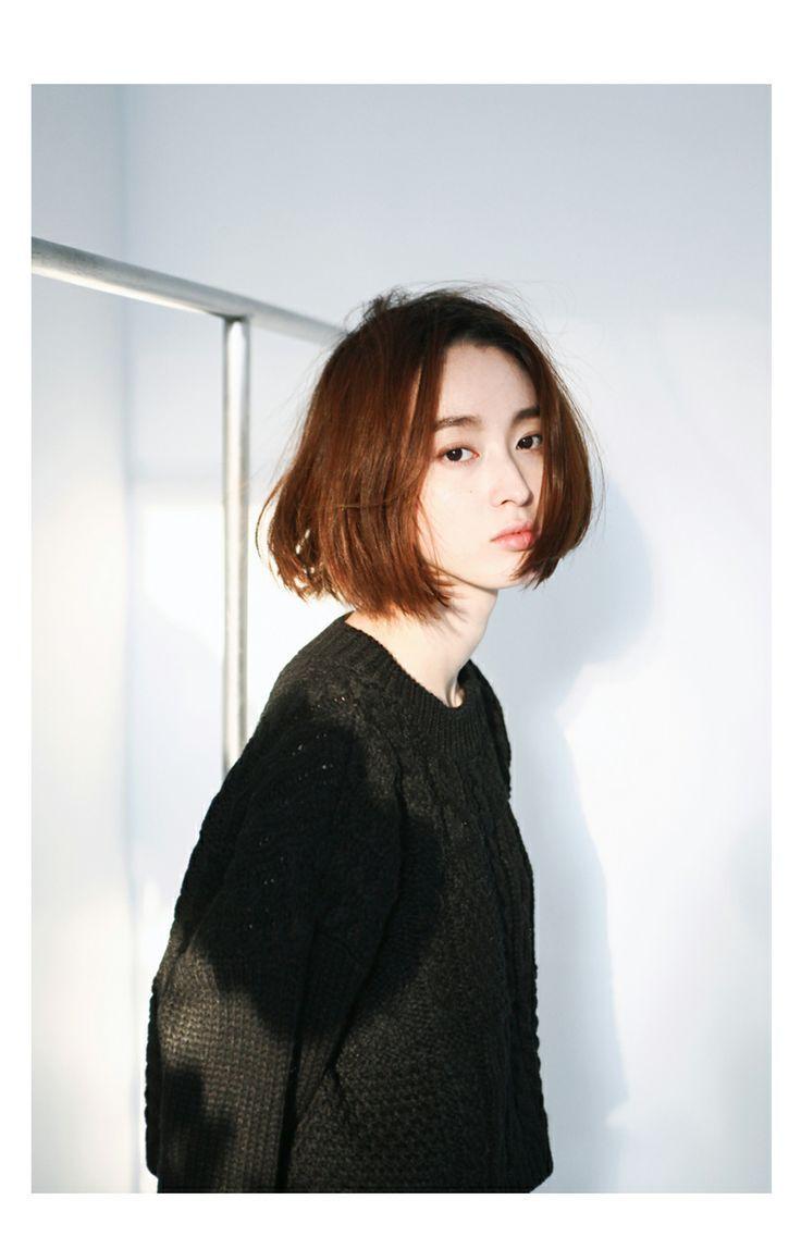 Short Asian Bob Hairstyle