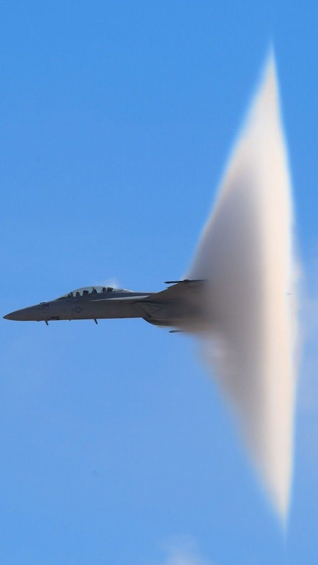 F/A-18 Super Hornet breaking the sound barrier                                                                                                                                                                                 More