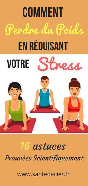 Comment perdre les kilos du stress ?