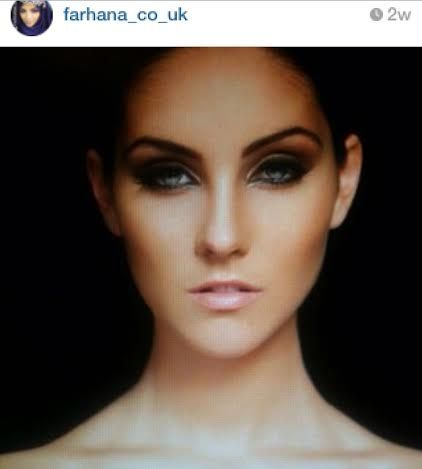 Beautiful Miss Wales, photographed by Ryan Bater. Enhanced her blue eyes with smokey eyeshadow, also used Benefit & Bobbi Brown makeup. www.farhana.co.uk