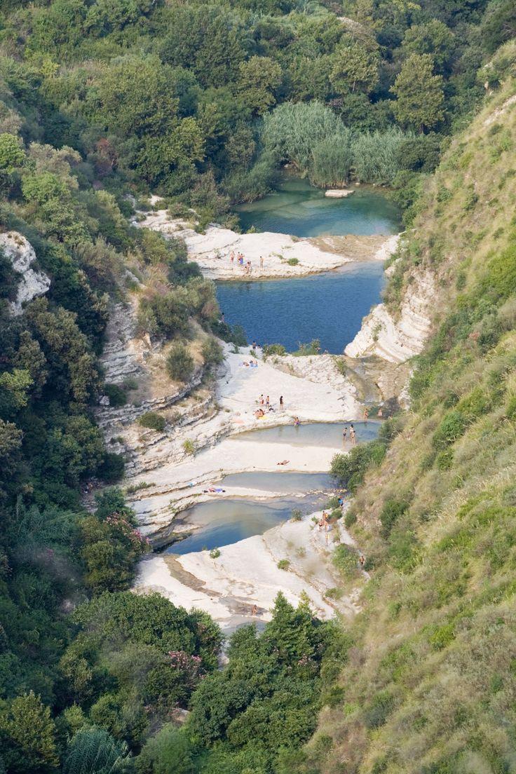 Avola lakes, Sicily, Italy