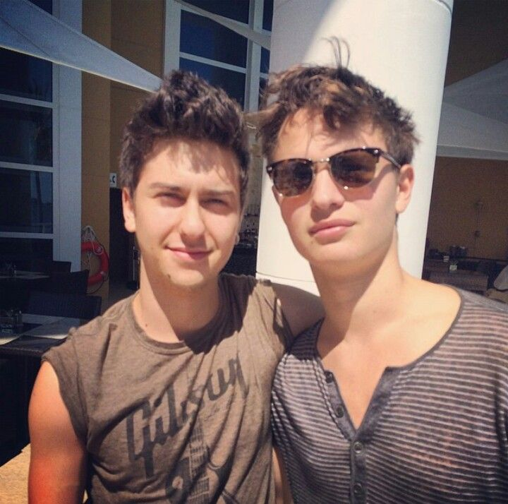 Nat Wolff and Ansel Elgort   Oh boy.   Pinterest