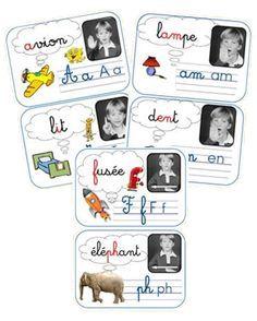 Affiches sons CP : alphas + Borel-Maisonny