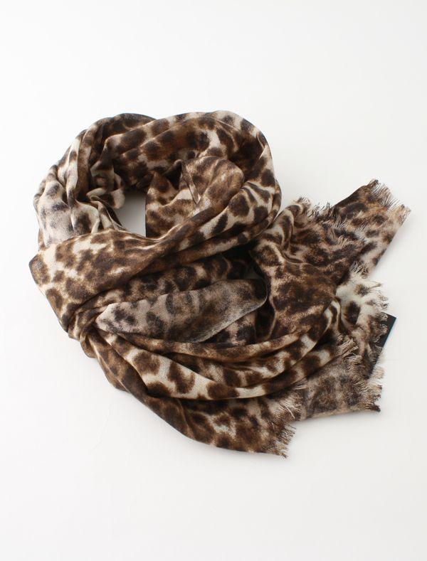 Leopard Wool Scarf | By Malene Birger (Leollisho Q4226100)