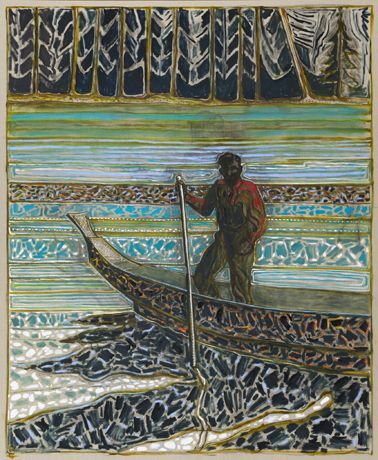 Carl Freedman Gallery | Billy Childish 'the house at grass valley'