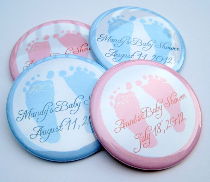 baby shower personalized button magnets on pinterest baby shower