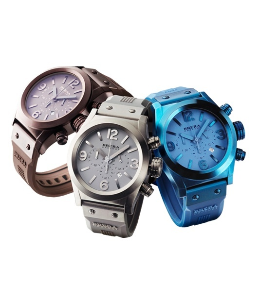 Get them before they're gone! For a limited time, we are offering our Eterno Chronos in three new tonal ionic-plated colors – blue, grey, and brown.      DEADLINE:  Monday, Dec. 17. Last day to order ground shipping in order to receive your Brera in time for Christmas!  http://breraorologi.com/mens-watches/eterno-chrono-tonal/55