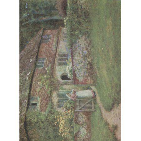Happy England 1904 Valewood Farm Canvas Art - Helen Allingham (18 x 24)