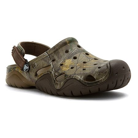 """Crocs, Inc. Swiftwater Realtree Xtra Clog - Men's"""