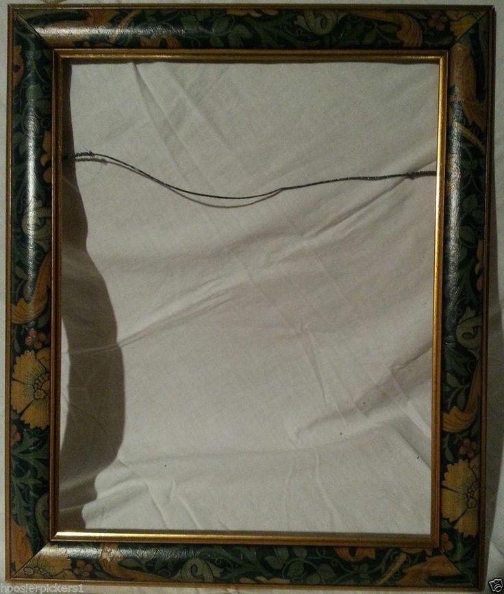 details about vintage looking flower floral colored wood frame decorative frame only