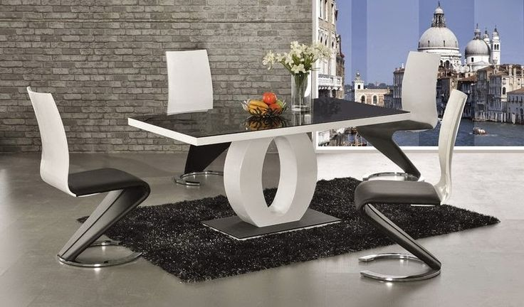 Home Genies- Home and Garden products: High Gloss Dining Table and Chairs Sets