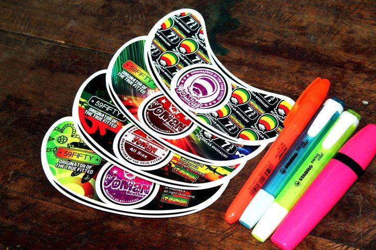 "Sticker Hip-hop Topi ""Yoman"""