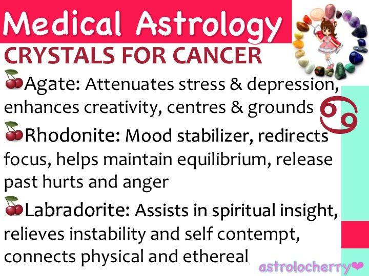 Medical Astrology: Crystals for Cancer