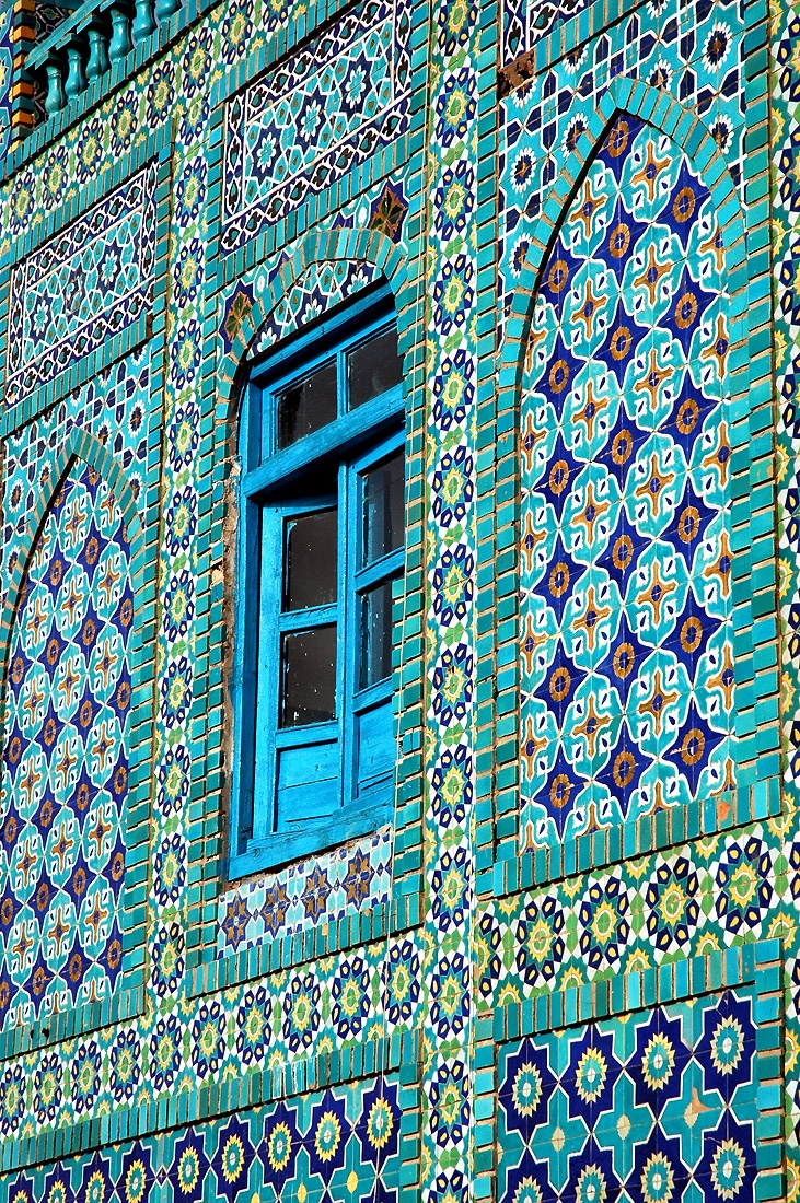 Blue mosque, Mazar-i-Sharif