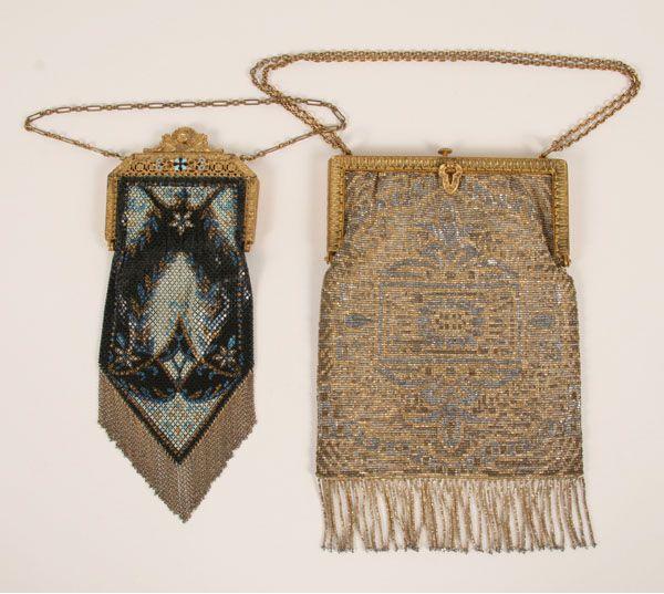 Vintage mesh purse Etsy