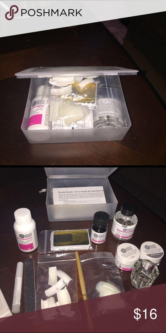 Acrylic nail kit brand new, never been used acrylic nail kit. beauty secrets Other