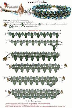 Super duos, O-beads, bicones and 15/0 - Elfenatelier