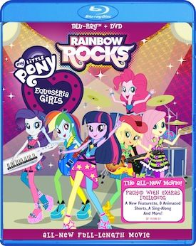 My Little Pony Equestria Girls: Rainbow Rocks is now on DVD! Enter to WIN your copy now on MyBabyStuff.ca!