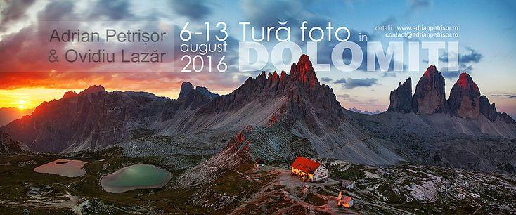 Daca indragiti muntele, aventura dar mai ales fotografia si nu aveti inca planuri pentru vara asta, vin cu o propunere tentanta zic eu, si anume o saptamana-n Italia, plimbandu-ne prin cele mai frumoase locuri din Muntii Dolomiti vazute de mine si Ovidiu in ultimii ani. Vom sta integral pe munte la refugii (cabane montane) si …