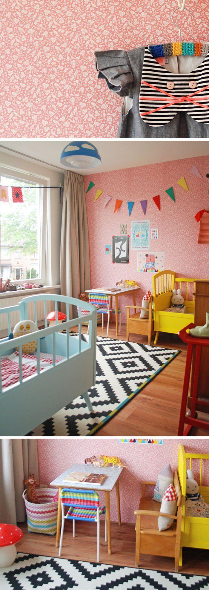 25 beste idee n over gedeelde kinderkamers op pinterest gedeelde kinderslaapkamers gedeelde - Decoratie kamer slapen schilderij ...