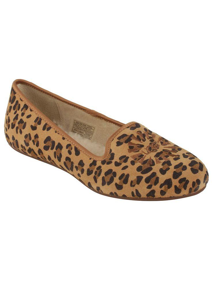 Ugg Leopard Print Flip Flops