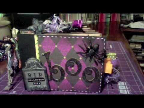 Paper Bag Halloween Mini Album