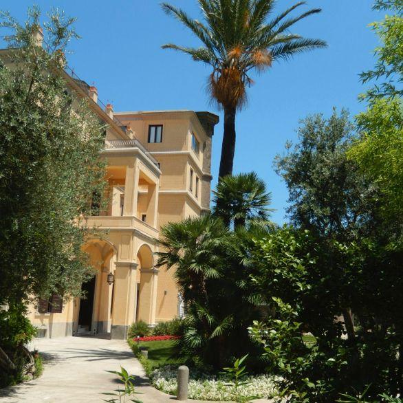 Giardino storico Villa Crawford a Sorrento