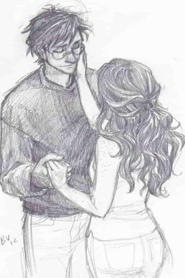 Lindos Desenhos De Amor Em 2020 Desenhos Harry Potter