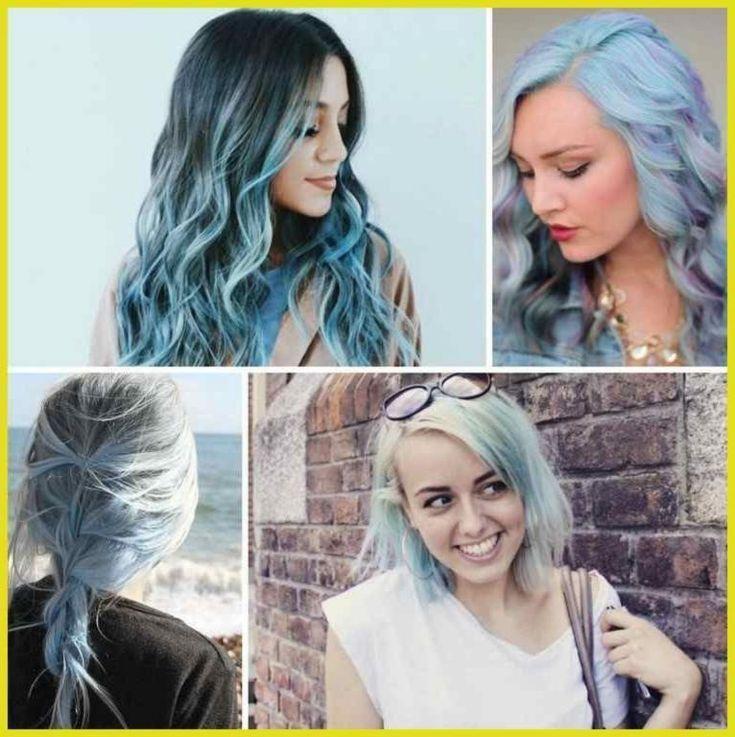 Haare Pastell färben – Rosa, Lila und Blau als Haarfarben Trends   Frisuren Tut…  #farben #frisuren #haare #haarfarben #pastell –  –
