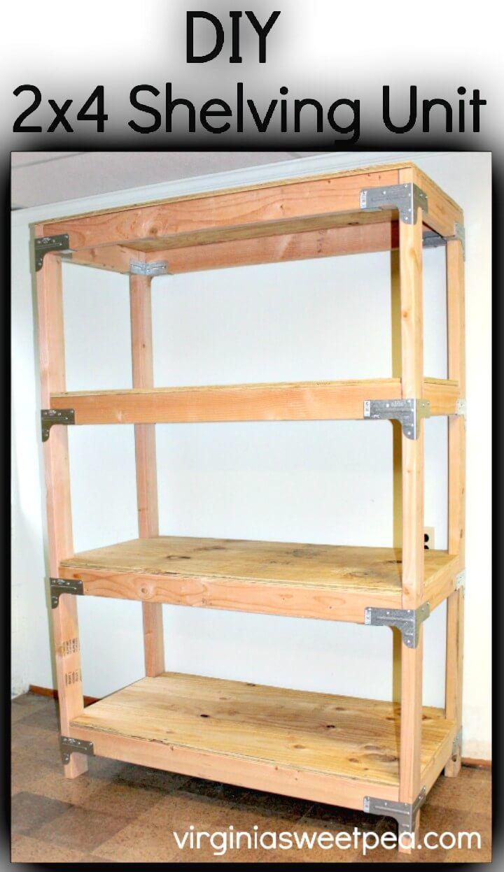 109 Easy Ideas To Build Diy Shelves For Your Home Decor Diy