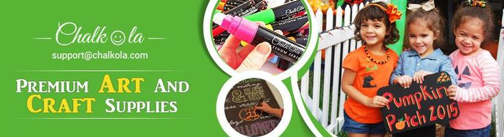 Chalkola Chalk & Metallic pens best for Chalkboards, Windows and other non porous surfaces. Bright & Bold Chalk pens safe for kids. Available in USA, UK, Europe. https://www.chalkola.com