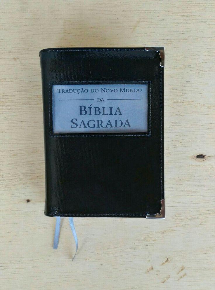 Capa Bíblia preto verniz