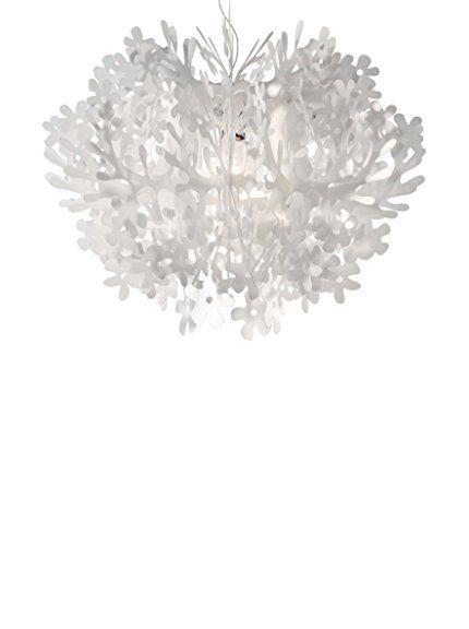 SLAMP Lampada A Sospensione Fiorella Mini Bianco 48 cm su Amazon BuyVIP