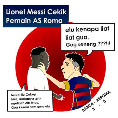 YayaN Share: Messi Cekik Pemain Lawan (Berita Populer)