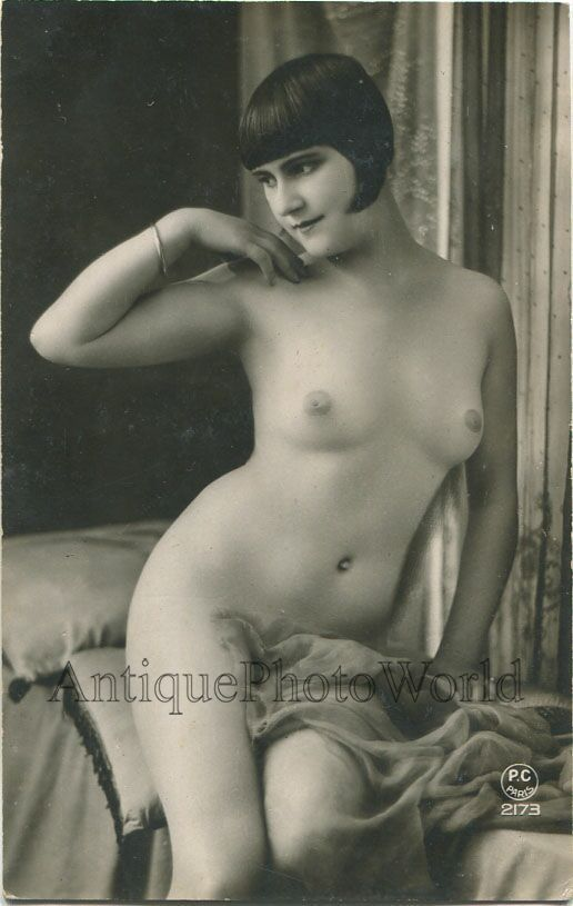 Beautiful Nude Woman with Bracelet Antique Art Photo | eBay