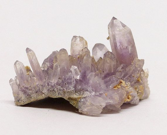 Rare Bulgarian Amethyst Crystal Mineral by Minterest on Etsy