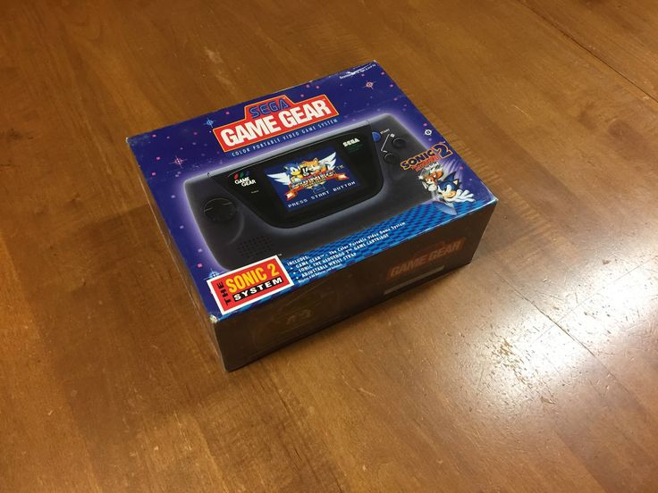 We just finished unpacking boxes of my Wife's childhood items and we found this completely unopened Sega Game Gear.