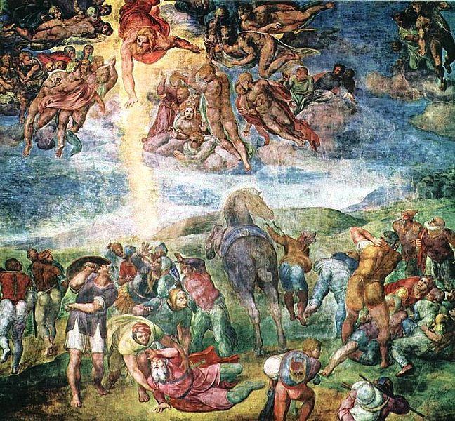 Michelangelo: A conversão de Saulo, Capela Paulina.