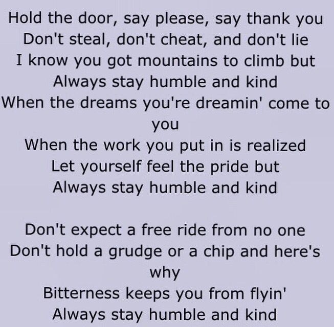 "Humble & Kind ~ Tim McGraw ❤️ this song is a ""wow"" song!"