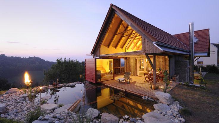 las 25 mejores ideas sobre ferienhaus am see en pinterest casas lago urlaub am see y caba as. Black Bedroom Furniture Sets. Home Design Ideas