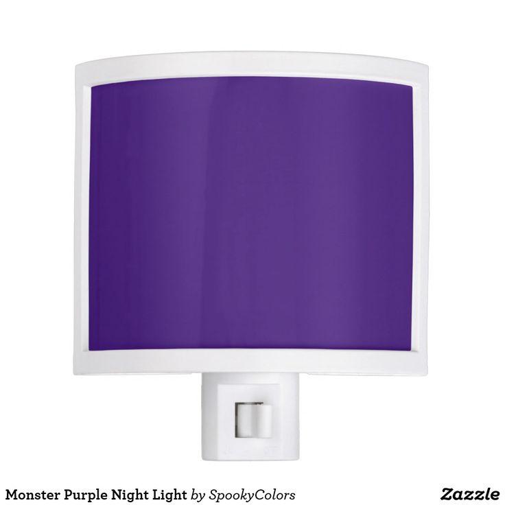 Monster Purple Night Light