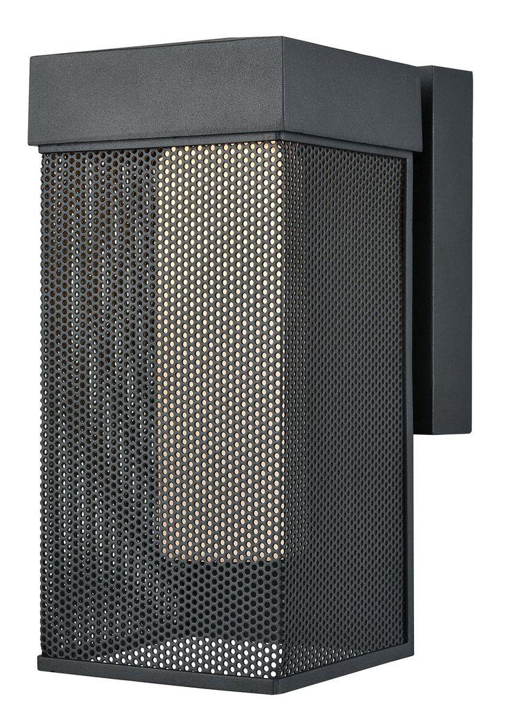 Barringer Dimmable LED 1-Light Outdoor Sconce