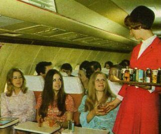 DAN AIR Inflight Drinks Service