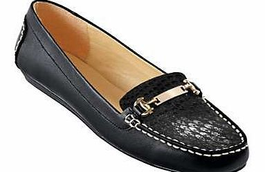 Leather Low Wedge Loafers Classic leather loafers with a snake print vamp, stitching detail and a snaffle trim. The point of difference? A simple low wedge heel for a little extra lift. Loafers Features: Upper: Leather Lining  http://www.comparestoreprices.co.uk/womens-shoes/leather-low-wedge-loafers.asp