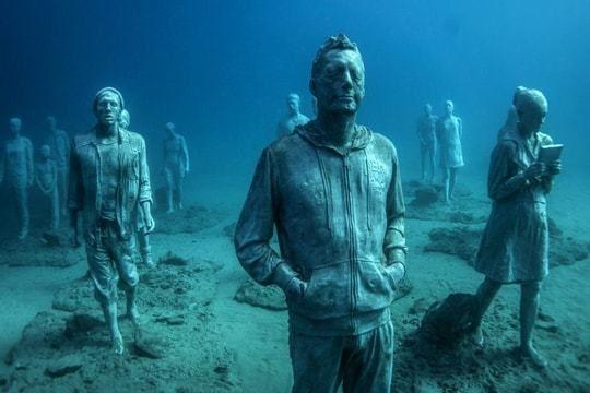 Le premier musée sous-marin européen à découvrir aux Canaries