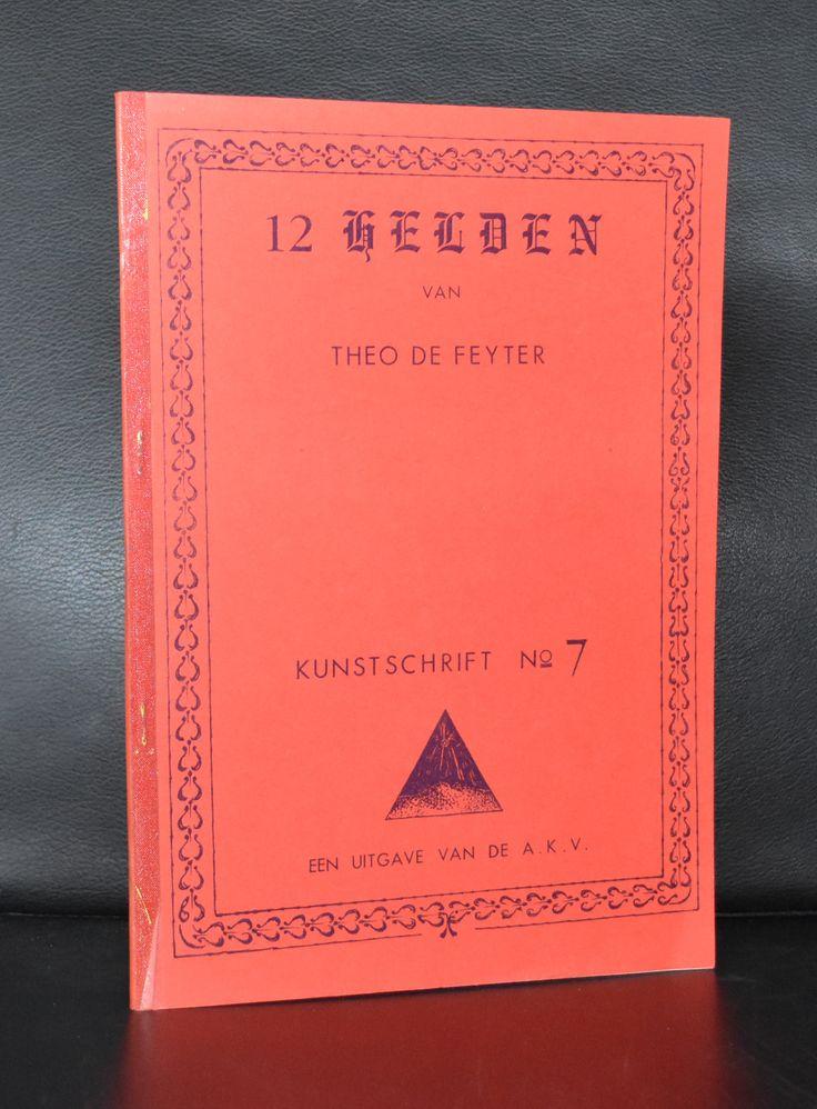 Theo de Feyter # 12 HELDEN # 1976, nm+